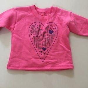 Hanes sweater babygirls 12 months